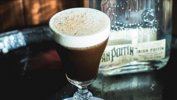 This Dublin Bar Serves Irish Coffees Made With Poitín And They're Seriously Good