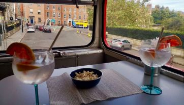 The Gin & Tonic Vintage Bus Tour Is The Best Way To Explore Dublin