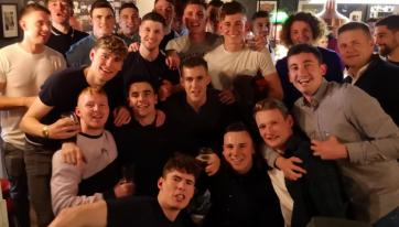 The Successful Dublin Hurlers Celebrated In A City Centre Pub On Saturday Night
