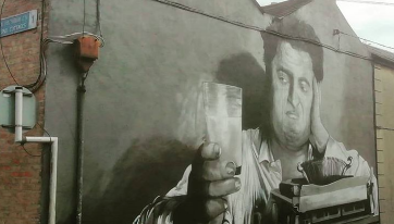 Have You Spotted The New Brendan Behan Mural In Dublin Yet?
