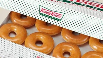PSA: You Can Now Get Krispy Kreme Doughnuts On Deliveroo