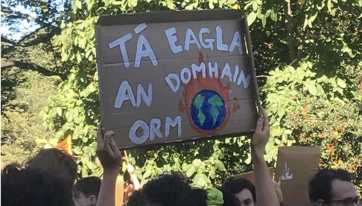 Our Favourite Protest Signs From The Climate Strike In Dublin Yesterday