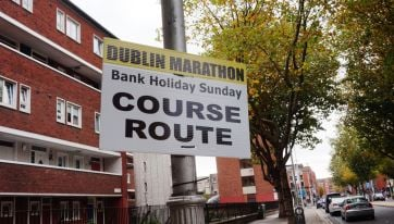 Here are all the road closures that will be in place for the 2019 Dublin Marathon