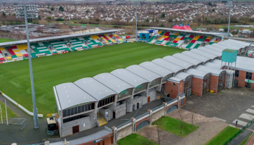 Plans are in place for Tallaght Stadium to be used as a 20,000 capacity live music venue