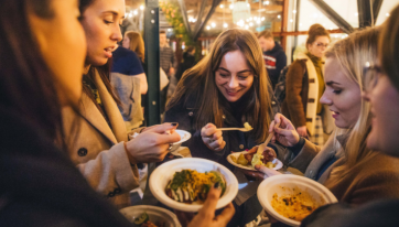 Taste of Dublin is returning for a massive Christmas food festival