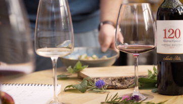 WIN: tickets to an exclusive wine and dine experience for you and three pals