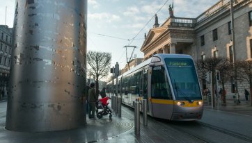 Partial closure of Luas green line all day today due to essential engineering works