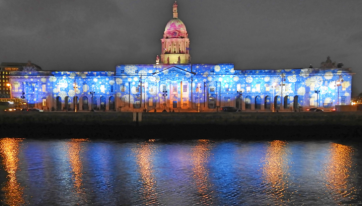 Two more iconic Dublin landmarks will get festive light displays this year