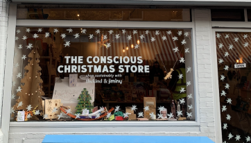 How to shop sustainably at the Conscious Christmas Store