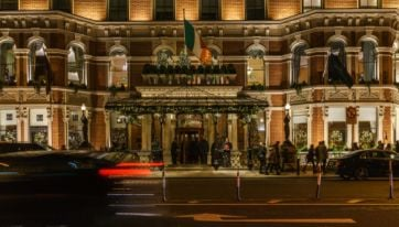 The Shelbourne's annual Christmas Tree Lighting takes place today
