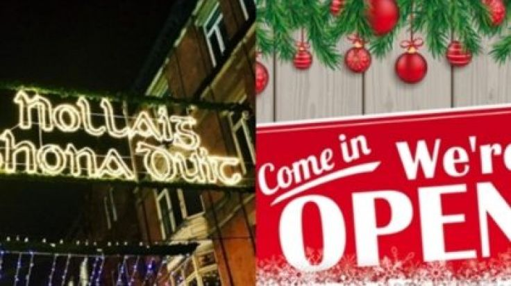 Open Christmas Day.Stop Panicking These Shops Are Open Around Dublin On
