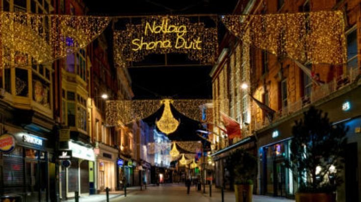 Pics The Christmas Lights Are Already Up On Grafton Street
