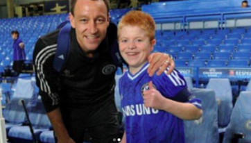 John Terry Pays Tribute To Dubliner Oran Tully Who Has Passed Away Aged 19