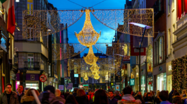 Pics It S Now Officially Christmas In Dublin As The Lights