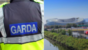 A Garda 'Ring Of Steel' Will Be In Place For Tomorrow's Match At The Aviva