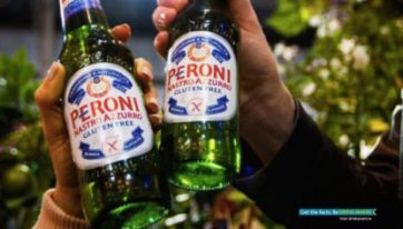 Attention Beer Fans — Deliveroo Now Bring Peroni Right To Your Front Door