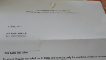 A Gal Invited Michael D Higgins To Her Wedding And His Official Response Is Amazing
