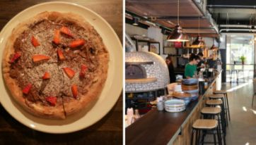 This Dublin Café Serves Up A Seriously Good Nutella Pizza