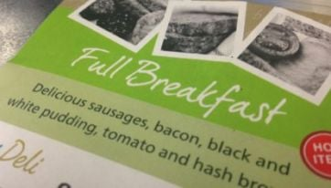 Sausage Fest - The Aer Lingus Breakfast Review