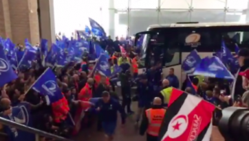 WATCH: Leinster Team Gets Rousing Reception On Arrival At St. James' Park
