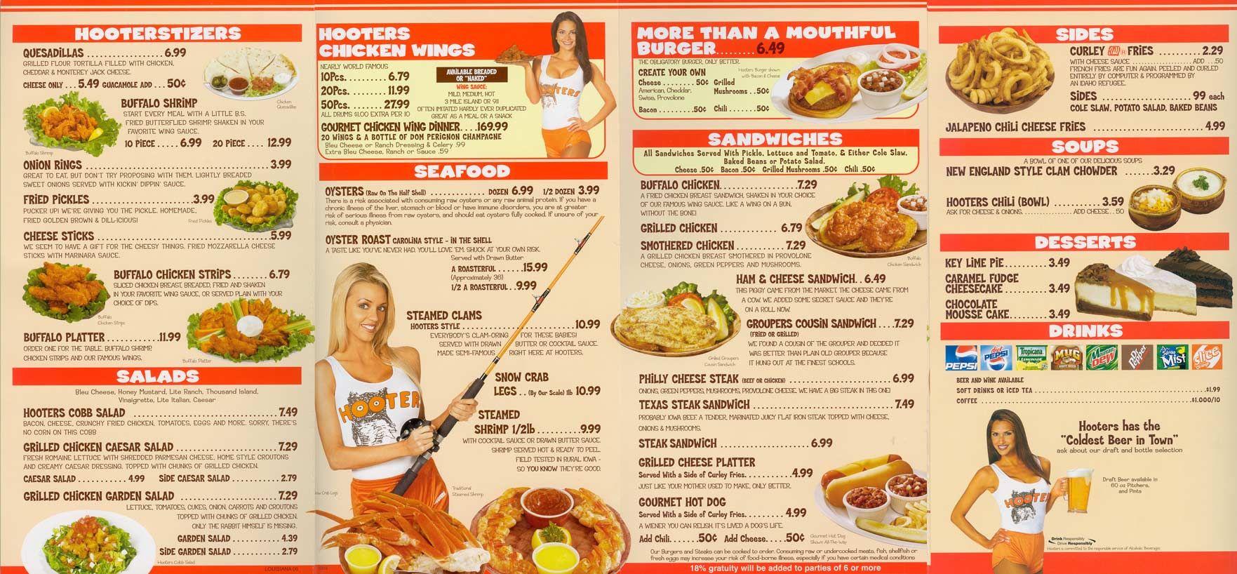 Hooters_menu