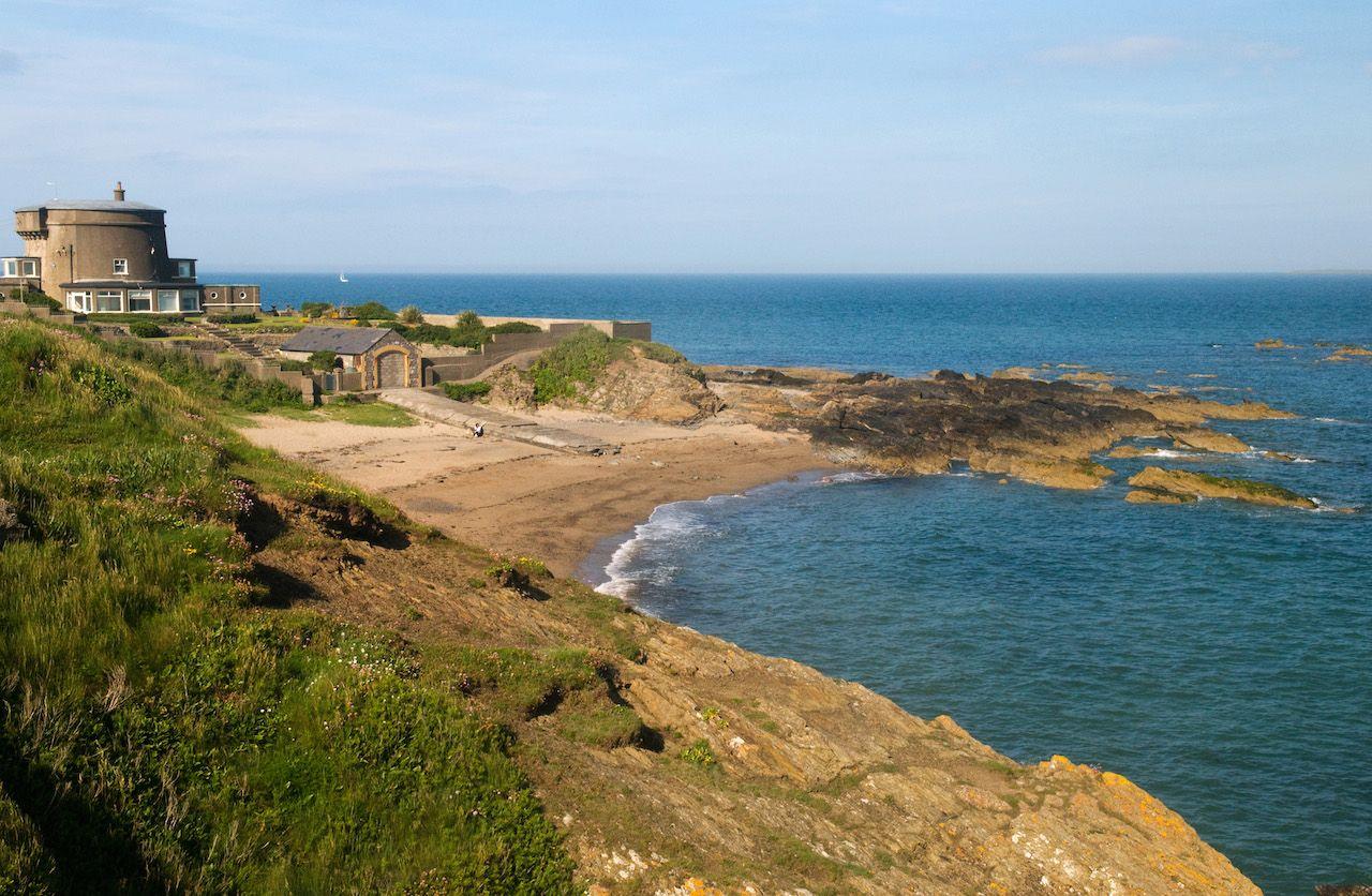 Portrane Tower  - coastal view