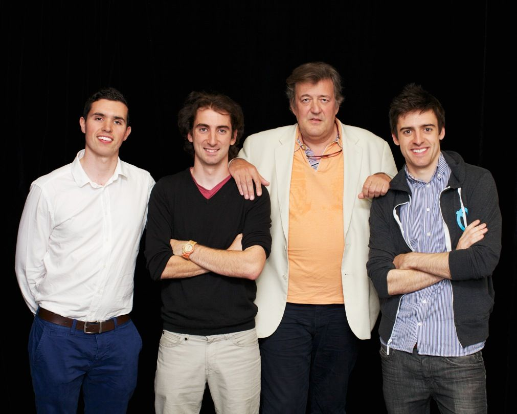 Stephen Fry & Soundwave team