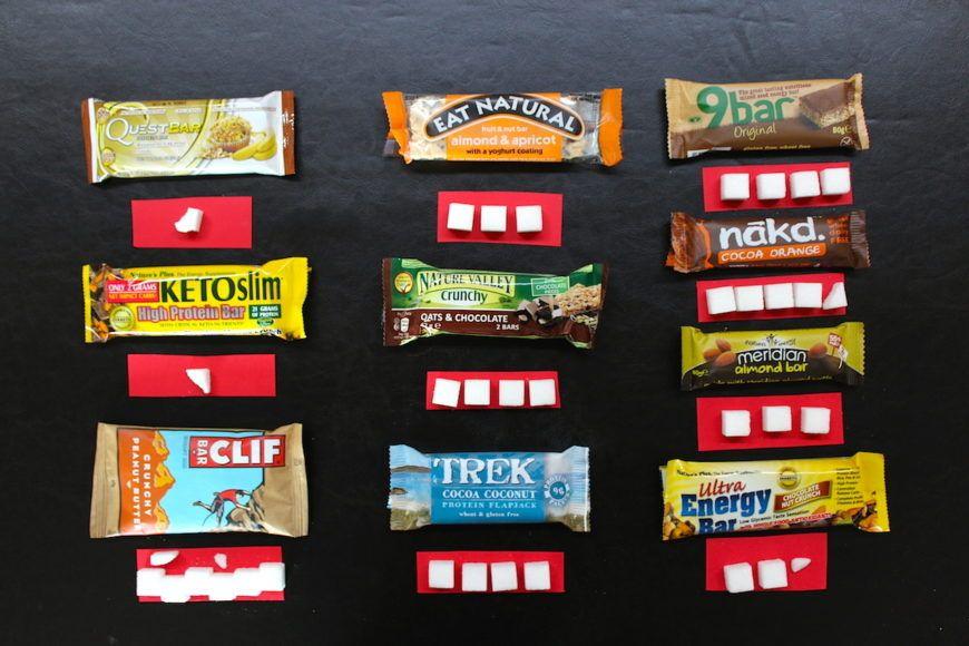 Sugar-In-Healthy-Bars