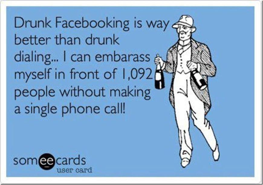Drunk-Facebooking