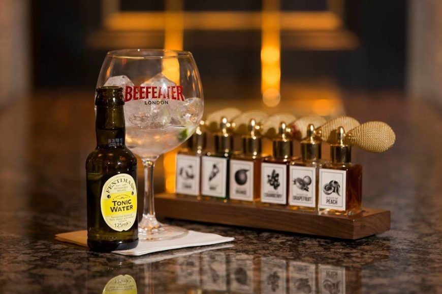 Beefeater-tonic