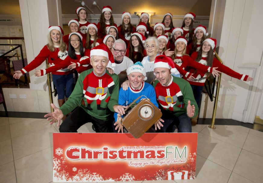 LR-Paul-Shepherd-Keith-Shanley-and-Garvan-Ribgy-Christmas-FM-with-Age-Action-members-Ellen-Redding-and-Bill-Rothwell-and-the-Alex-Pops-Choir-from-Alexandra-College-Dublin
