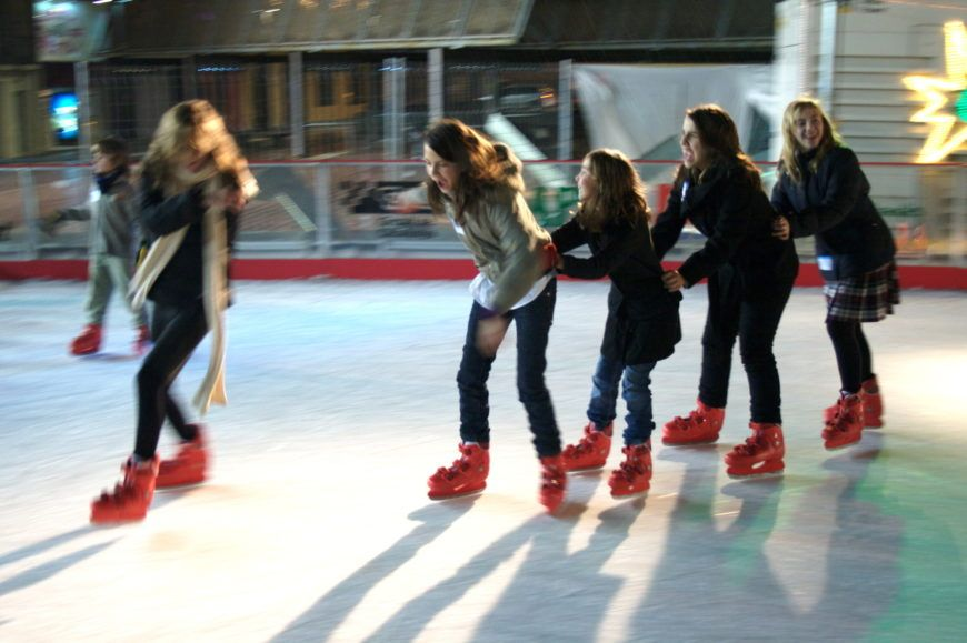 WWIP Ice skaters
