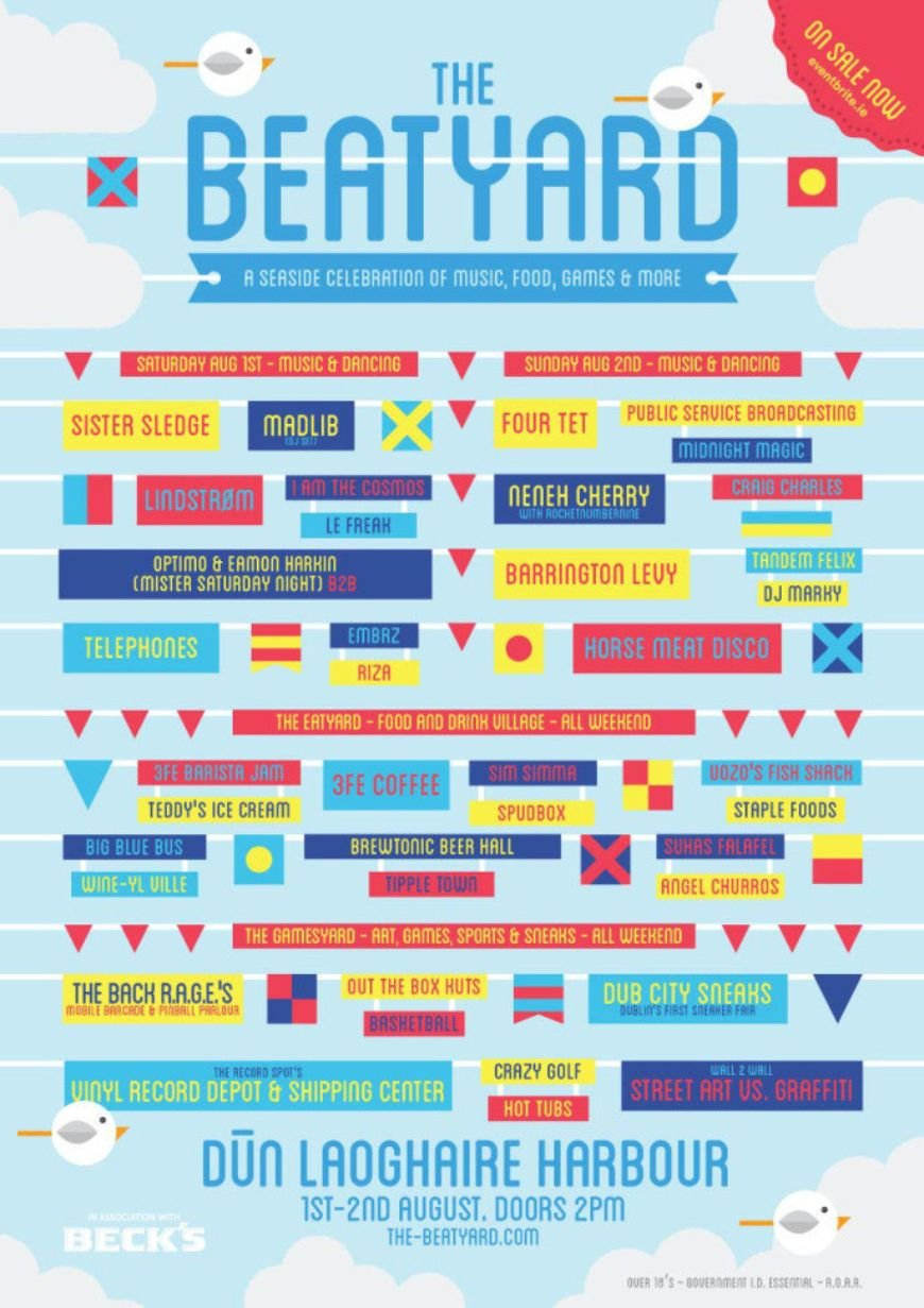 Beatyard-line-up
