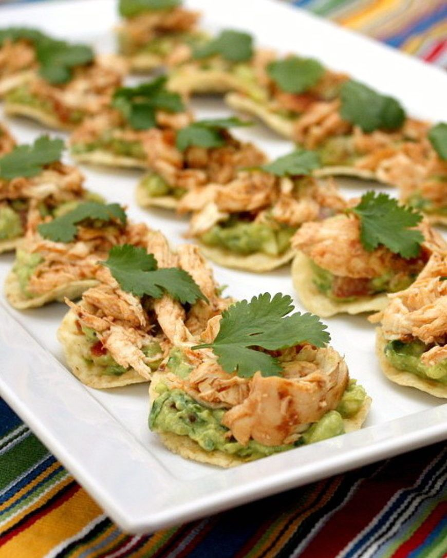 Chicken-Tostada-Bites