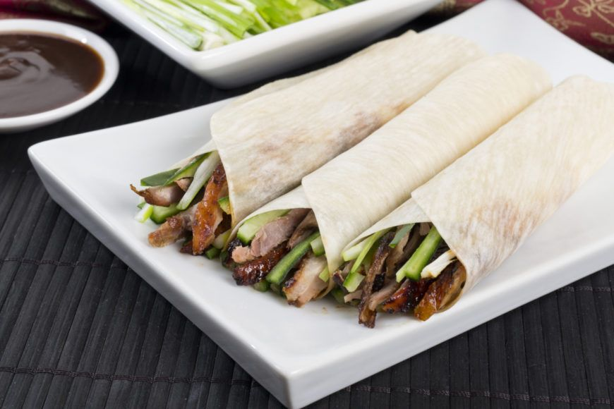 Aromatic-Duck-Pancakes