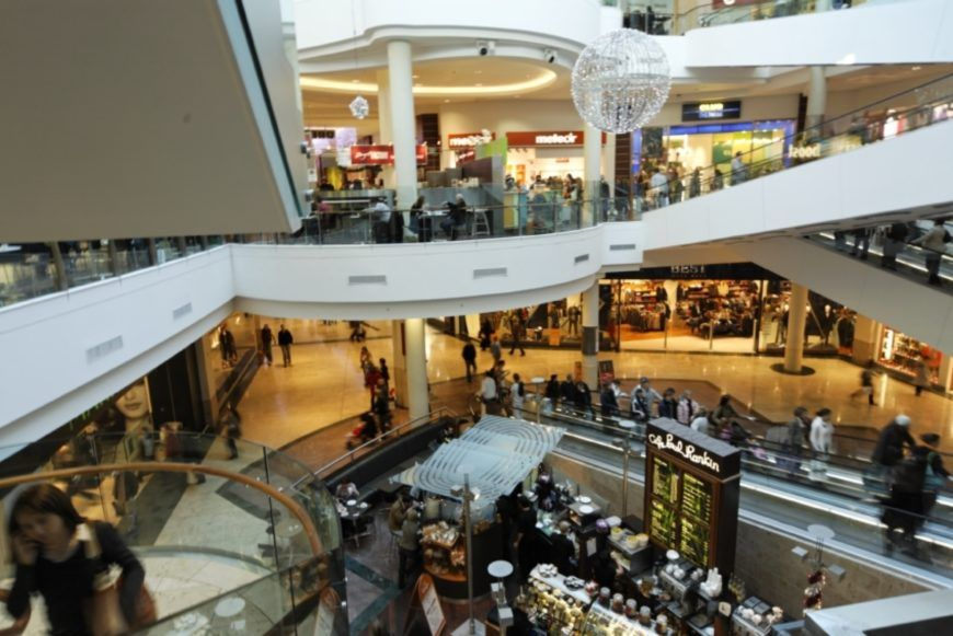 Interior of Dundrum Town Centre