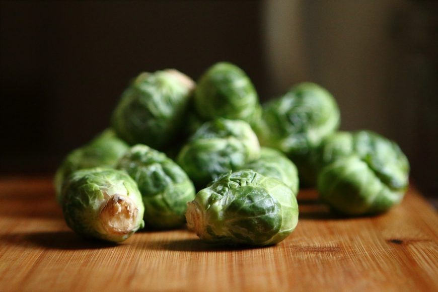 3  Brussels Sprouts