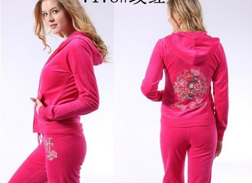 Juicy Couture Tracksuits Long Sale J 1404 Lrg