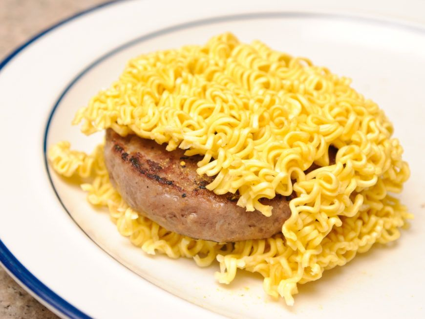 Make A Ramen Noodle Sandwich Step 8
