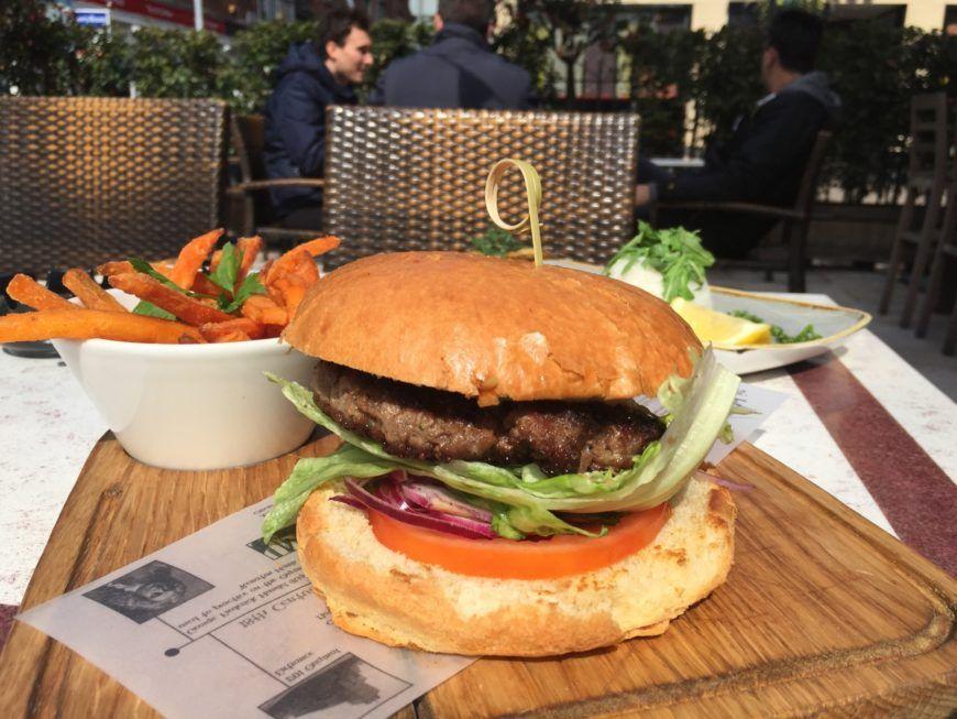 Burger Terrace Sunny Lunch