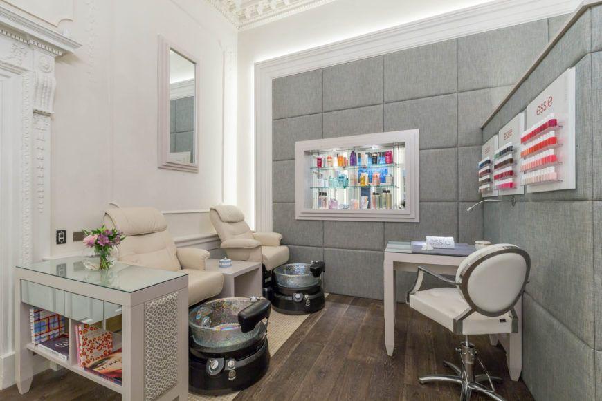 The Salon Manicure And Pedicure Area