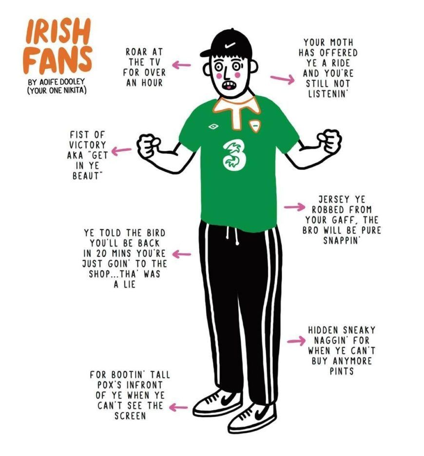 Irish Fan