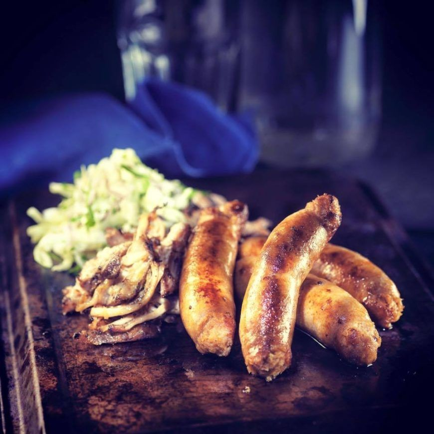 Pulled Pork Sausages