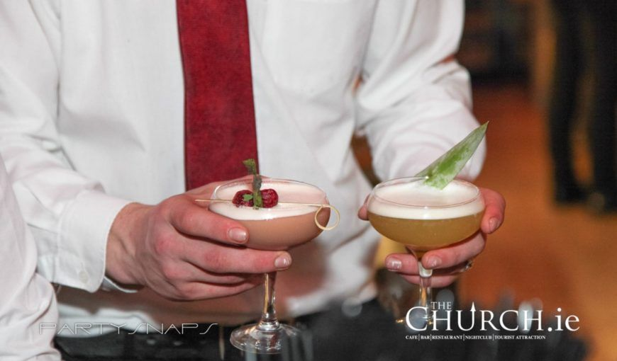 Cocktails The Church New
