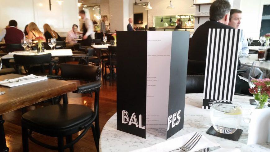 Balfes Restaurant Dublin