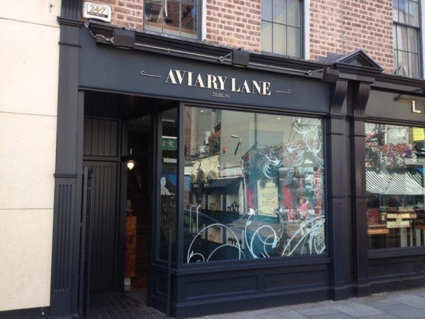 Dublin City Hair Salon Free Booze Aviary Lane Hair Beauty