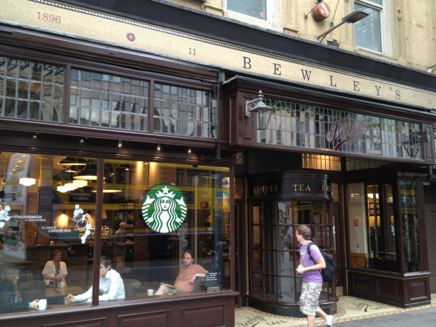 Starbucks Westmoreland St Bewleys