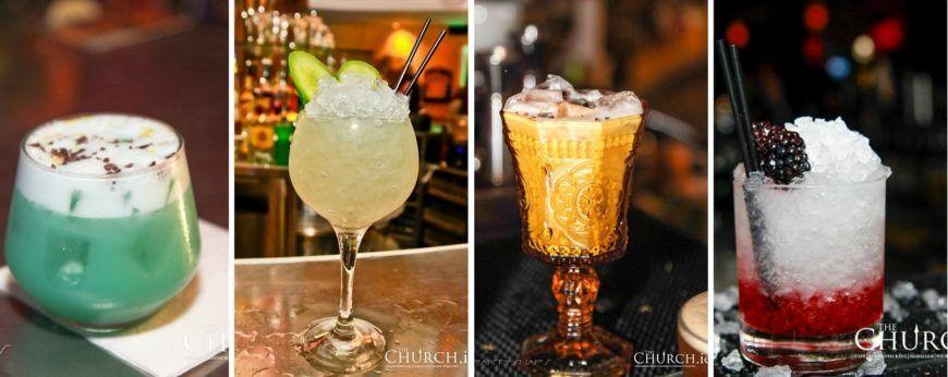Cocktail Collage Website