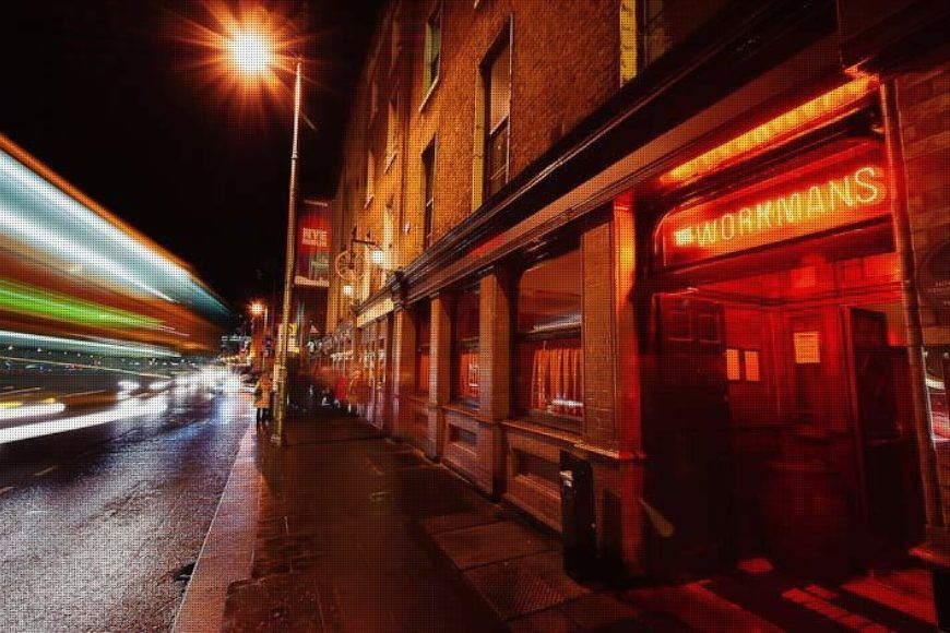 A night out in The Workmans is one of the best things to do in Dublin
