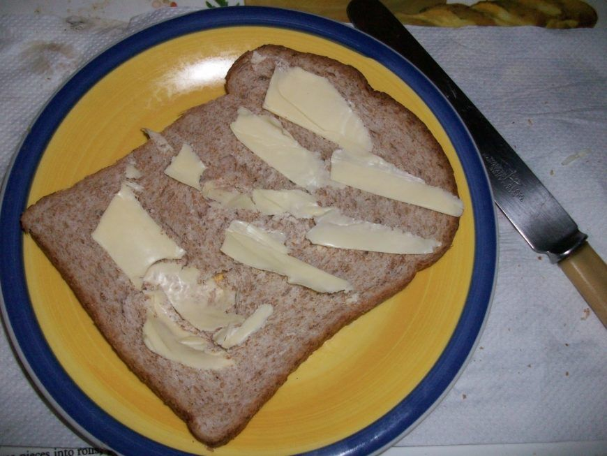 Buttered Bread 003